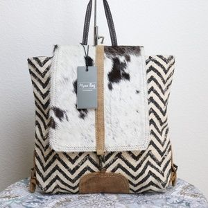 Myra Bag NWT COWHIDE FRONT Back Pack